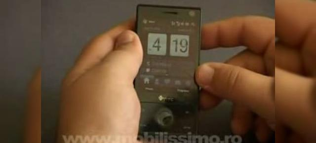 Mobilissimo prezinta recenzia video a lui HTC Touch Diamond