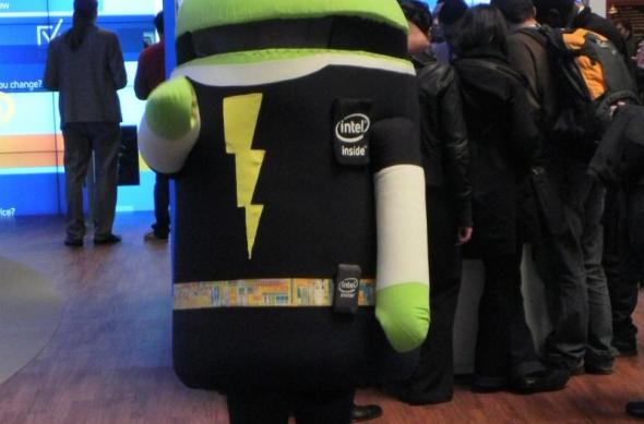 MWC 2012: Android și Intel merg pe un drum comun cu … mascote (video): dscn0432.jpg