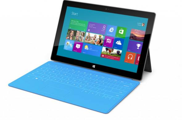 Microsoft Surface pentru Windows RT și Windows 8 Pro - primele detalii: tableta_surface.jpg