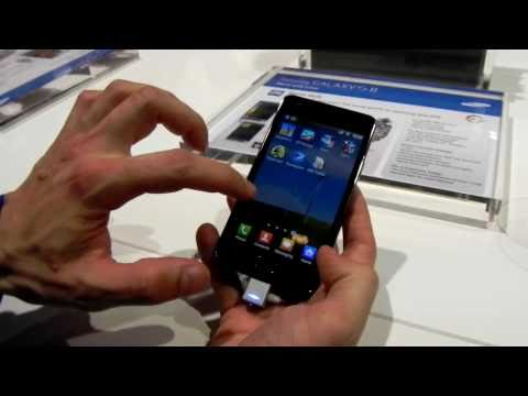 Samsung Galaxy S II Hands-On - Mobilissimo TV