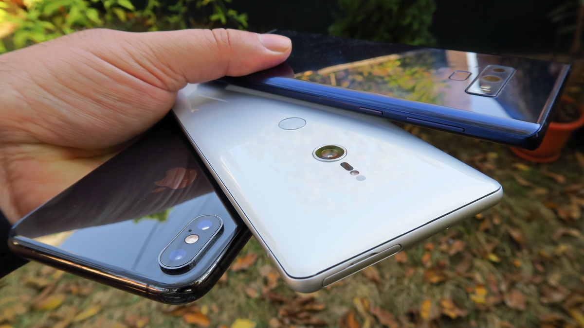 Care telefon e mai bun la cameră: Samsung Galaxy Note 9 vs. iPhone XS Max vs. Sony Xperia XZ3; Rezultat vot în orb (blind test), aici!