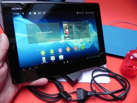 Sony Xperia tablet S unboxing - Mobilissimo.ro