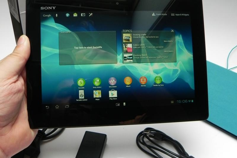 Sony Xperia Tablet S - Unboxing: Sony-Tablet-S-Unboxing_001.jpg