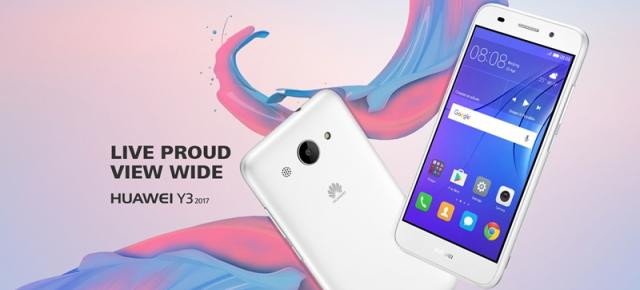 Huawei Y3 (2017) este anunțat oficial; handset din zona low-end cu Android Marshmallow
