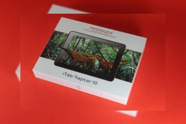 InfoTouch iTab Raptor 10 - prima tabletă sub brand local cu CPU Rockchip quad-core