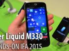 IFA 2015: Acer Liquid M330 hands-on - primul telefon cu Windows 10 Mobile analizat la Mobilissimo.ro (Video)