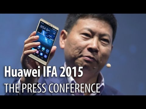 Huawei Mate S Unveiled at IFA 2015 (The Press Conference) - Mobilissimo.ro