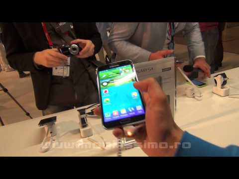 Samsung Galaxy S5 Hands-On Video Preview MWC 2014 - Mobilissimo.ro