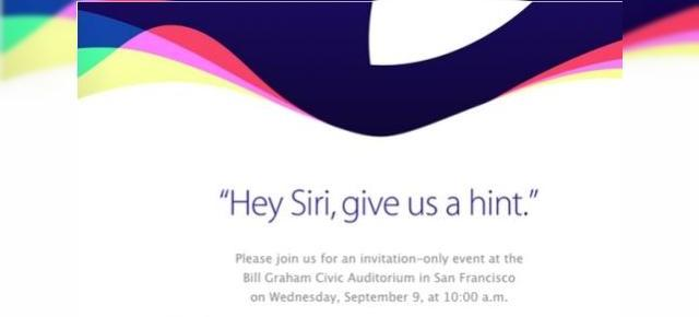 Apple confirmă evenimentul de pe 9 septembrie în care iPhone 6s și iPhone 6s Plus vor fi dezvăluite oficial