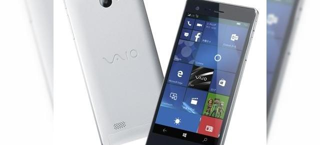 VAIO Phone Biz este anunțat oficial; rulează Windows 10 Mobile și aduce un corp metalic