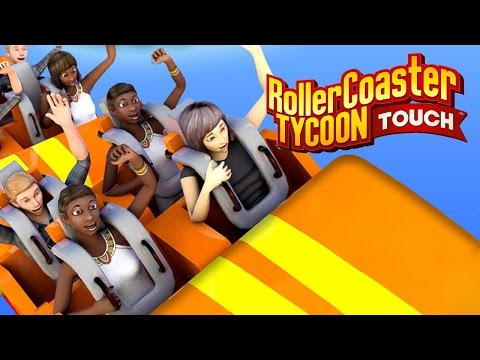 Review joc Rollercoaster Tycoon Touch, prezentat pe pe Huawei P10 Plus (Joc Android, iOS)