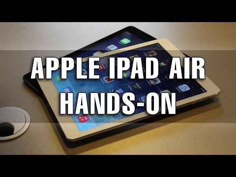 Apple iPad Air Hands-On Preview în Limba Română - Mobilissimo.ro