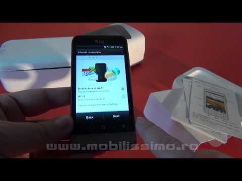 HTC One V unboxing - Mobilissimo TV