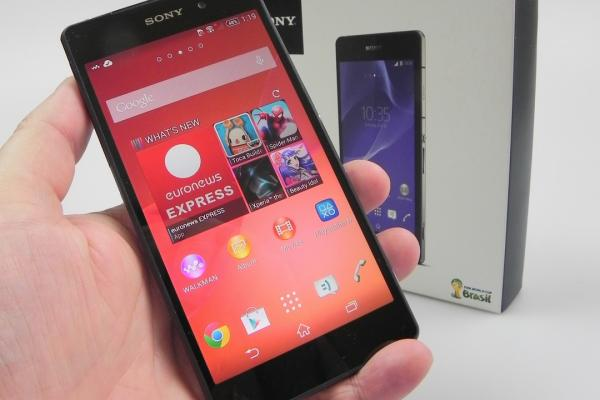 Sony Xperia Z2 - Unboxing