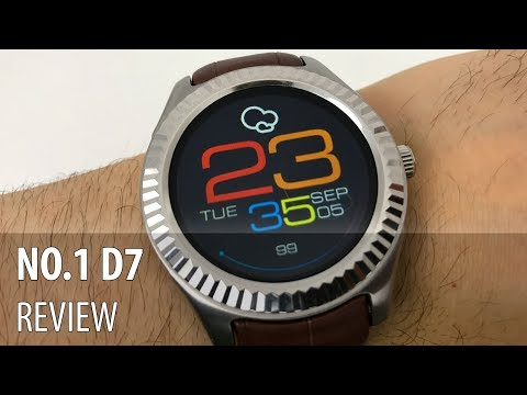 NO.1 D7 Video Review (Smartwatch Android cu funcții de smartphone)