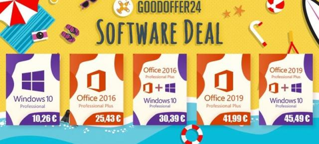 (P) Goodoffer24 revine cu reduceri atractive pentru licențe software Windows, Office și bundle-uri speciale