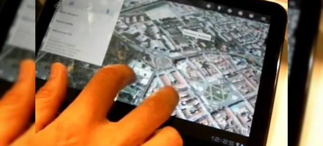 MWC 2011: Noul Google Maps, În acțiune pe tableta Motorola Xoom (Video)