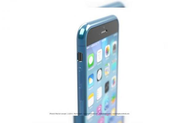Un nou concept de iPhone 6 scoate la iveală un design superb ce include un display aproape edge-to-edge și o carcasă mată cu margini lucioase