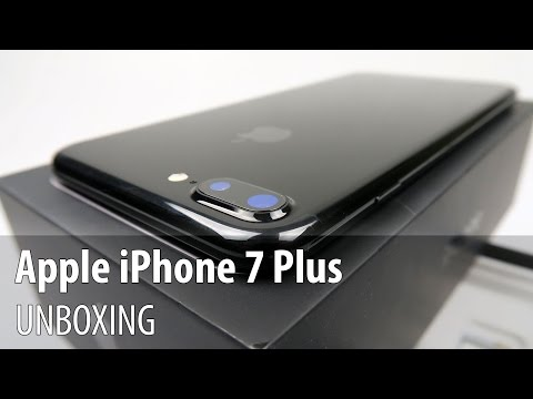 iPhone 7 Plus Jet Black Video Unboxing în Limba Română