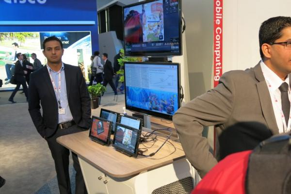 "MWC 2013: Qualcomm Snapdragon S800 prezentat la standul Qualcomm Într-un demo ""nuclear"" (Video)"