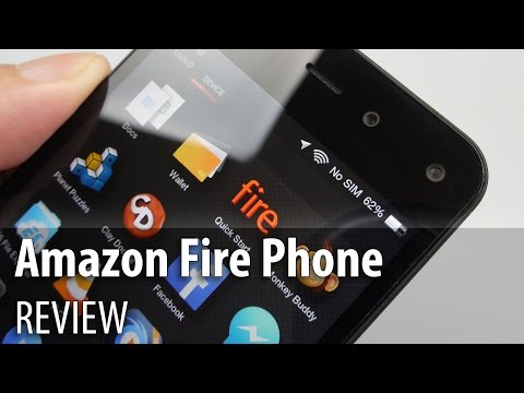 Video review: Amazon Fire Phone