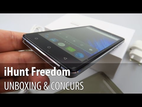 iHunt Freedom Unboxing + Concurs (Telefon de buget ce costă doar 375 lei) - Mobilissimo.ro