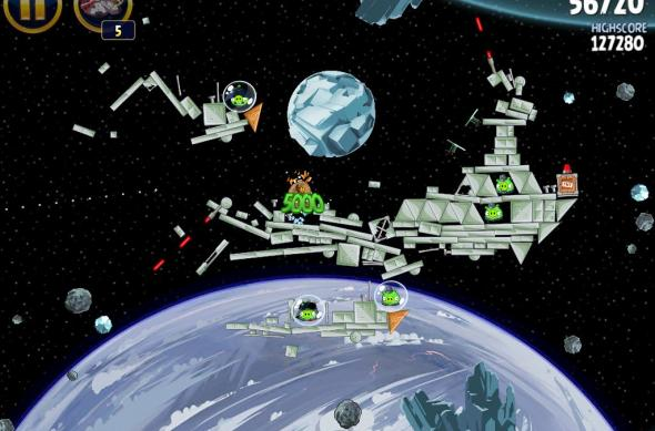 Angry Birds Star Wars Hoth Update review: prințesa Leia, roboți patrupezi și multă distracție! (Video): ipad_mini_screenshot_29.jpg