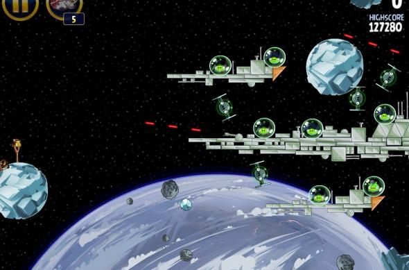 Angry Birds Star Wars Hoth Update review: prințesa Leia, roboți patrupezi și multă distracție! (Video): ipad_mini_screenshot_33.jpg