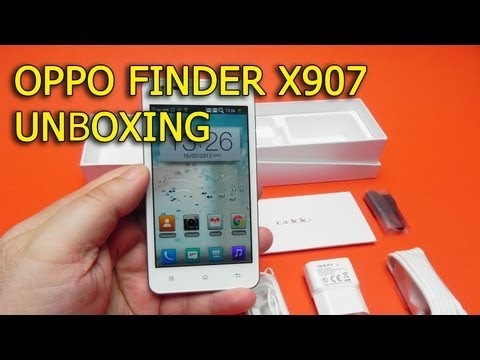 Oppo Finder X907 Unboxing (Cel mai subtire smartphone din lume) - Mobilissimo.ro