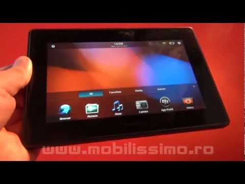BlackBerry PlayBook review (HD) - Mobilissimo TV