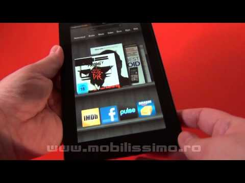 Amazon Kindle Fire review Full HD in limba romana - Mobilissimo TV