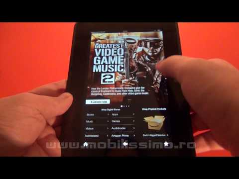 "Amazon Kindle Fire HD 7"" review Full HD in limba romana - Mobilissimo.ro"