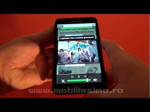 Samsung Galaxy Note, review Full HD in limba romana - Mobilissimo TV