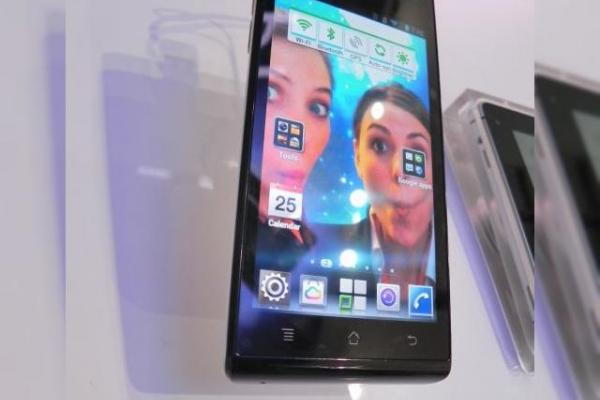 MWC 2012: Huawei Ascend P1 preview - telefon subțire cu Android 4.0, display Super AMOLED (Video)