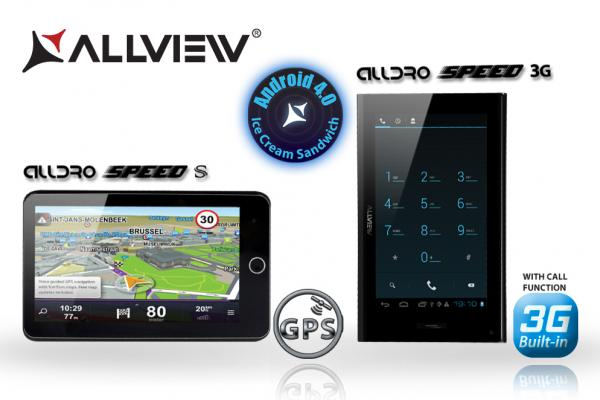Noi tablete Allview Alldro: Speed Satellite și Alldro Speed 3G